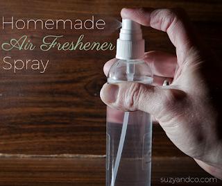 Homemade air freshener spray | suzyhomemaker.net