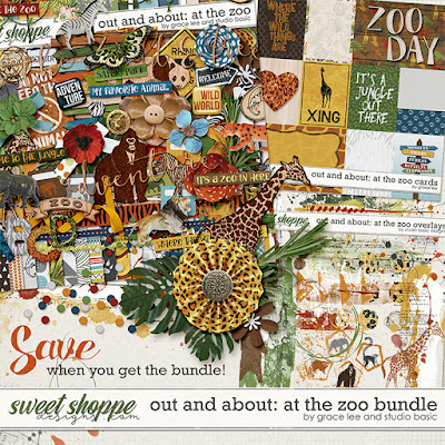 Out and About: At the Zoo Bundle