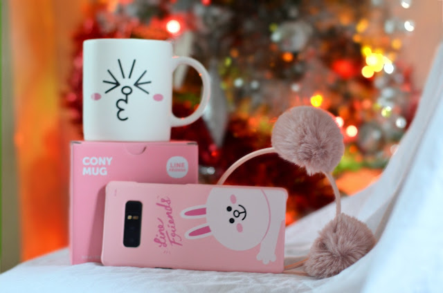 Line friends cony mug, line friends cony phone case Samsung galaxy note 8