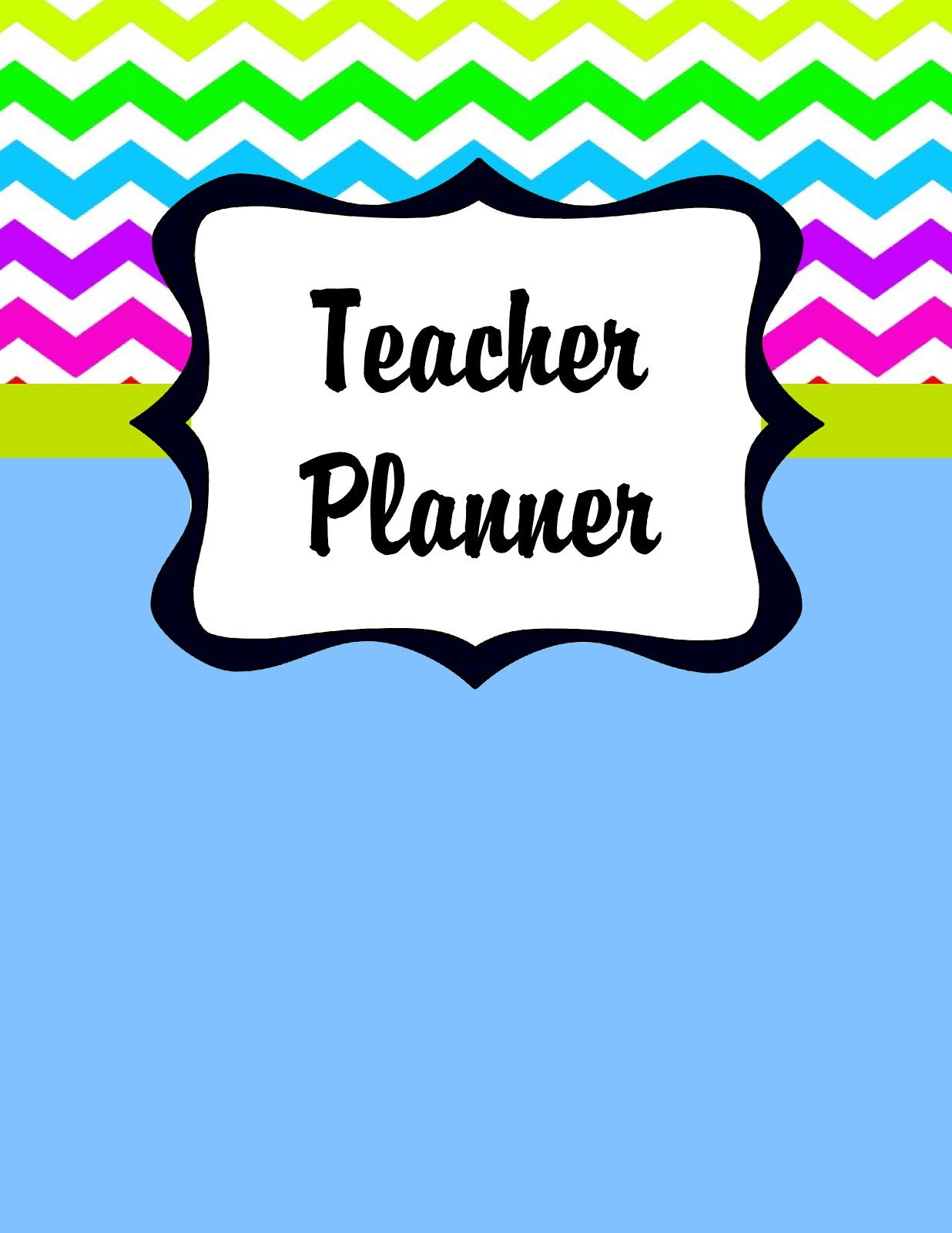 Scrap N Teach Teacher Planner Printables