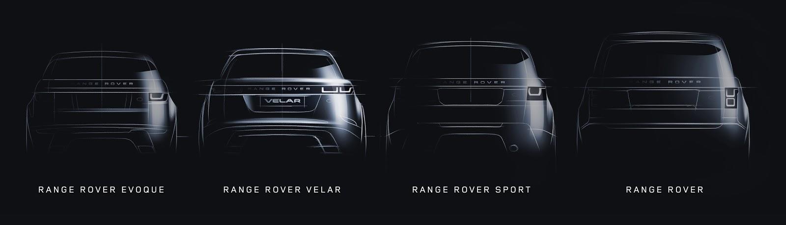 Range Rover Velar nằm giữa phân khúc Evoque và Range Rover Sport