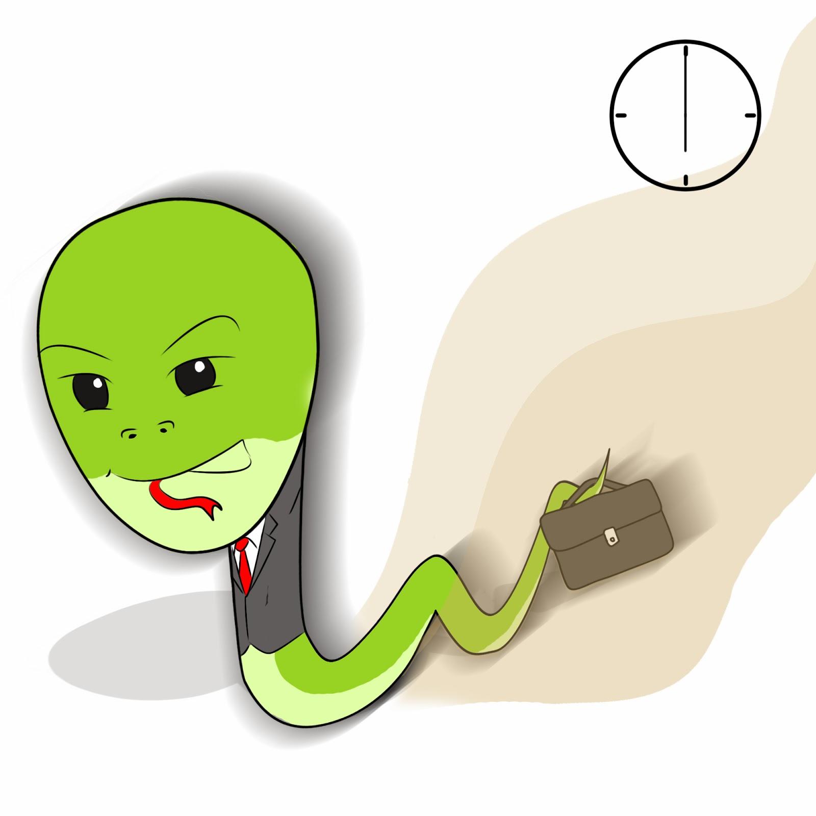 蛇竇 | Pantry Break: 如何準時收工而不失霸氣?