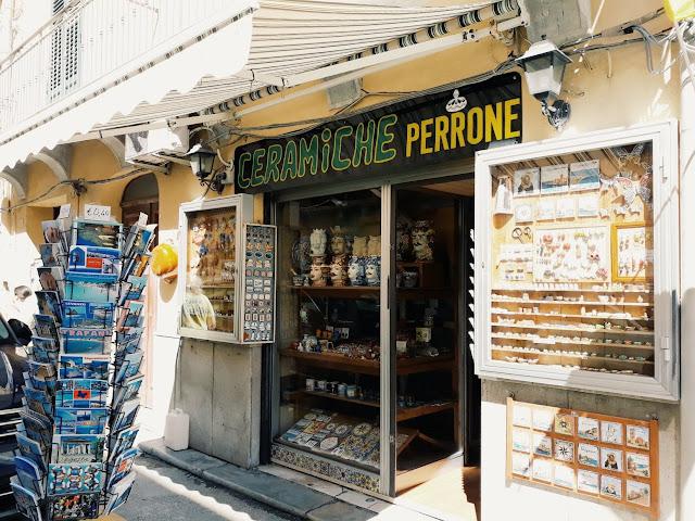Trapani, wakacje na Sycylii, ceramika