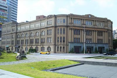 台湾 台北の郵便局本局?台北郵局は台北市にある中華郵政の郵便局