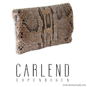 Crown Princess Marry Carried CARLEND COPENHAGEN Clutch