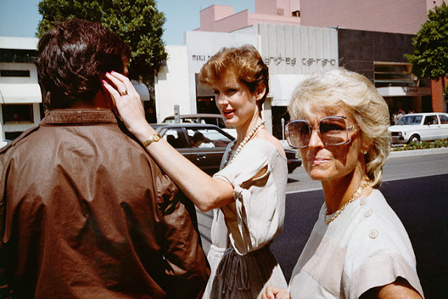 1980 S Image Of Shoppers On Rodeo Drive Beverly Hills By