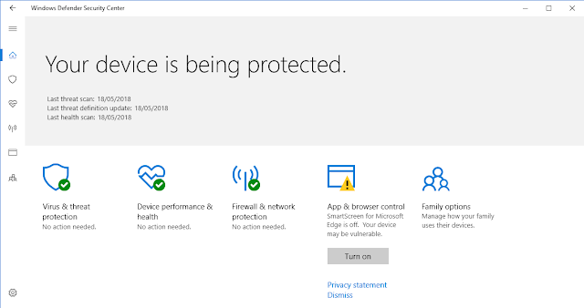 Windows Defender merupakan antivirus bawaan dari Microsoft windows  Cara Mematikan Windows Defender Security Center di Windows 10 Terbaru