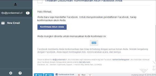 Membuat 1000 Akun Baru Facebook Tanpa Nomer Hp