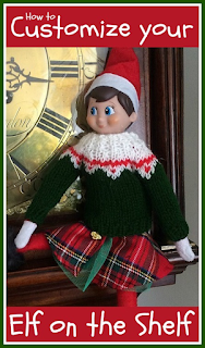 How to customise your Elf on the Shelf this Christmas