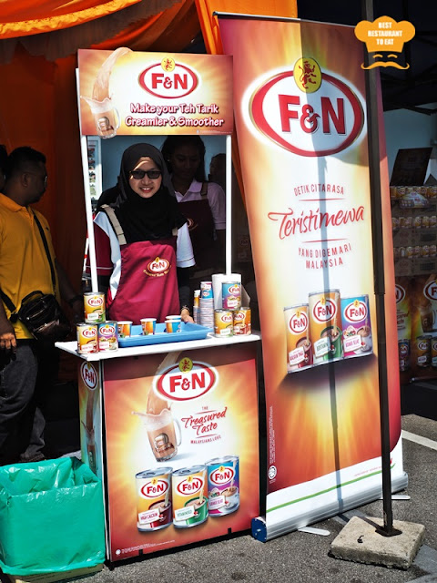 Free Flow Best Teh Tarik Booth
