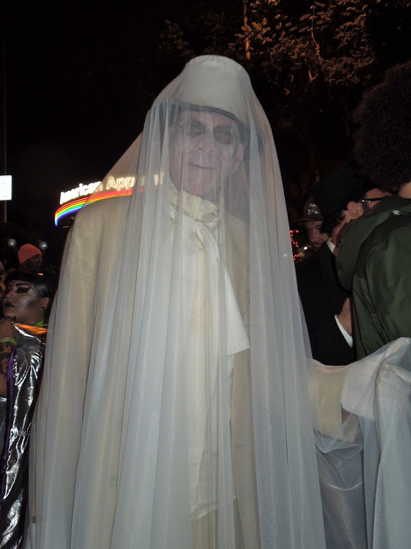 West Hollywood Halloween Carnaval ghost