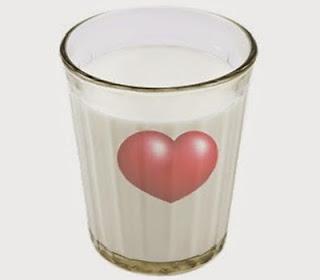 Pagato per intero con un bicchiere di latte