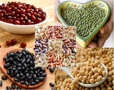 Bột ngũ cốc - nguyên liệu làm trắng da tự nhiên
