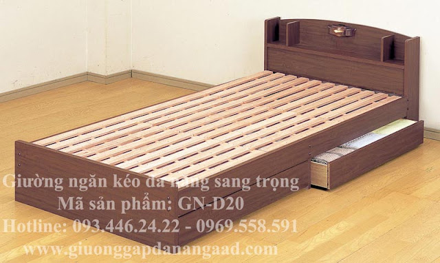 giường ngăn kéo đa năng sang trọng GN-D20