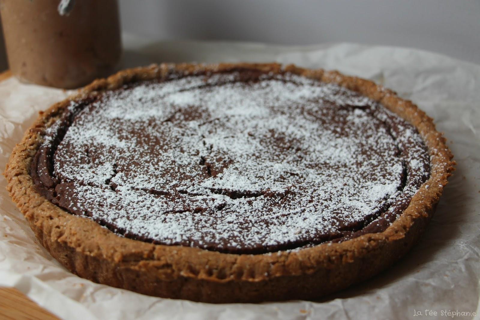 quotcrostata alla crema di castagne e cioccolatoquot tarte 224