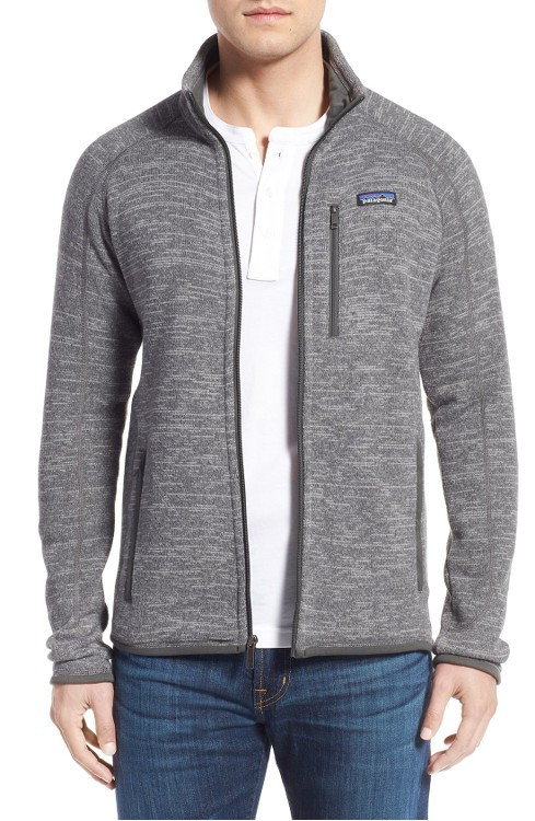 Patagonia sweaters and jackets