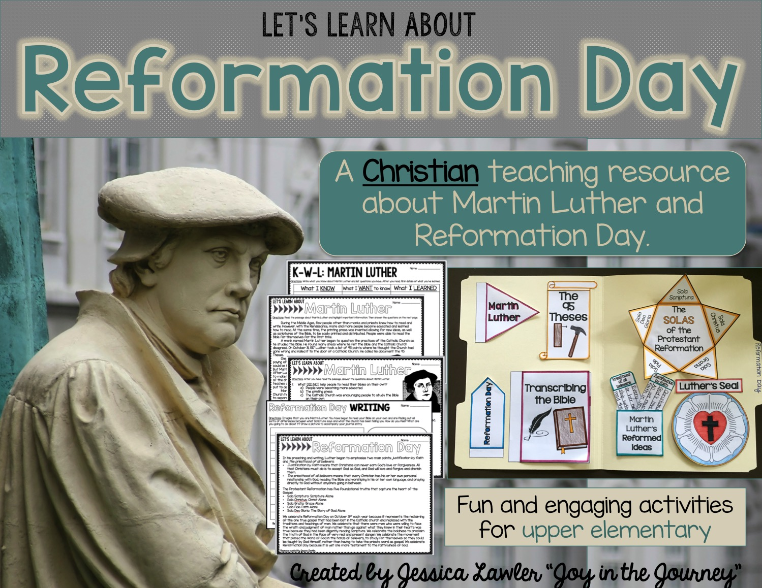 Reformation Day Resources October 31st