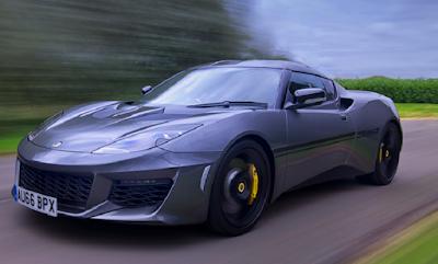 Mobil sports dengan konsumsi bahan bakar paling irit Lotus Evora