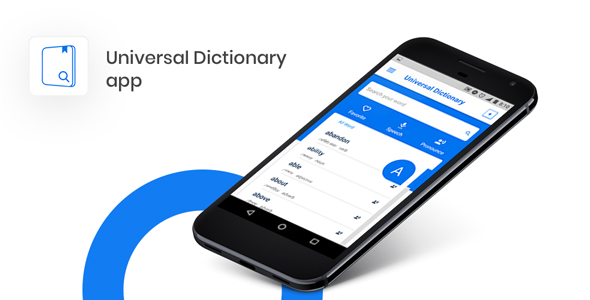 Dictionary App Template on Firebase - Creative Templates Android