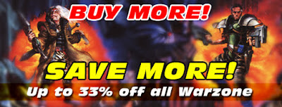 Buy More, Save More: Warzone Sale with up to 33% off.