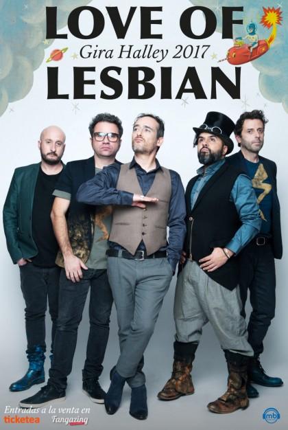Love of lesbian en Escenario Santander