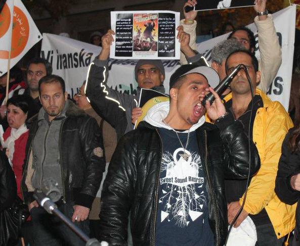 Inbjudna irakier stoppade av migrationsverket