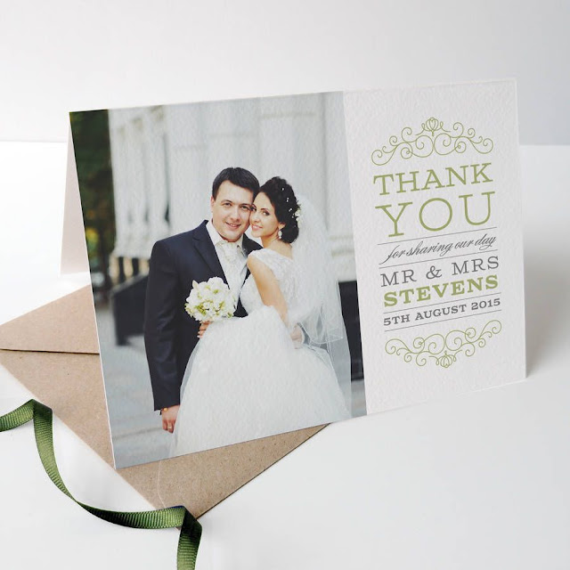 Wedding Thank You Cards Etiquette - beautiful cards
