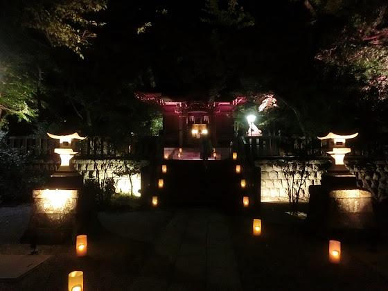 長谷の灯かり・御霊神社
