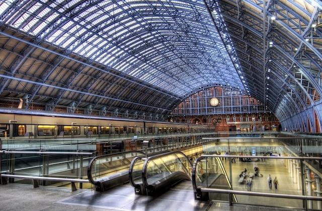 Estação St. Pancras em Londres