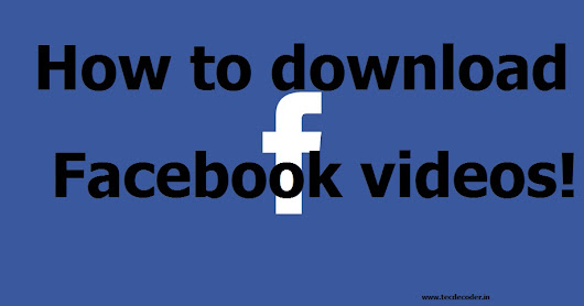 Download Facebook videos without using any tools!