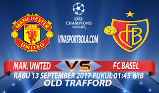Prediksi Manchester United vs Basel 13 September 2017
