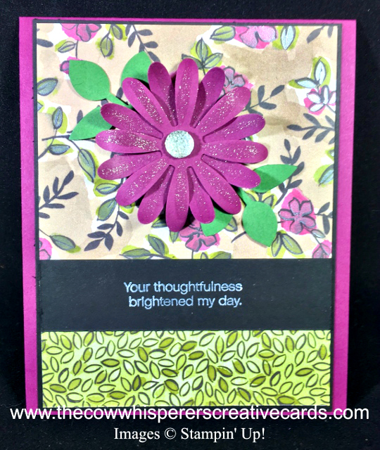 Card, Daisy Delight, Leaf Punch, Daisy Punch, Share What You Love Designer Series Paper