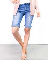 Simple Jean Shorts (Minimalist Wardrobe List: A 36 Piece Wardrobe)