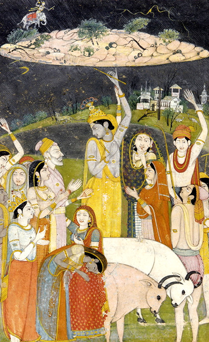Krishna in Bhagavata-Purana