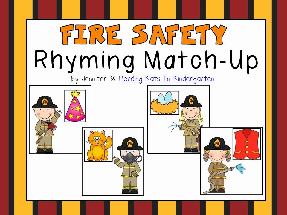 https://www.teacherspayteachers.com/Product/Fire-Safety-Themed-Rhyming-Match-Up-1477948