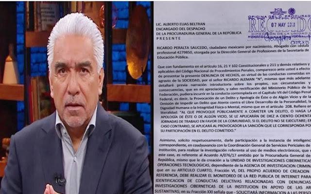 Denuncias, oficios, documento