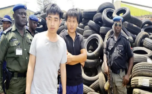 Chinese Nationals Who Imported Substandard Tyres Get Bail