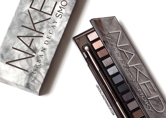 Urban Decay Naked Smoky Eyeshadow Palette Review Swatch Makeup Look EOTD
