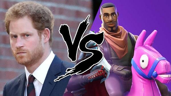 الأمير هاري ينتقد لعبة Fortnite و يطالب بمنعها في بريطانيا لهذا السبب !