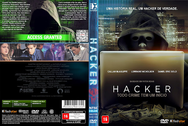 Capa DVD Hacker Todo Crime Tem Um Início [Exclusiva]
