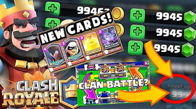 Clash Royale V1.8.6 Mod Apk Terbaru (Unlimited Coint/Gems)