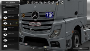 Signs mod for trucks