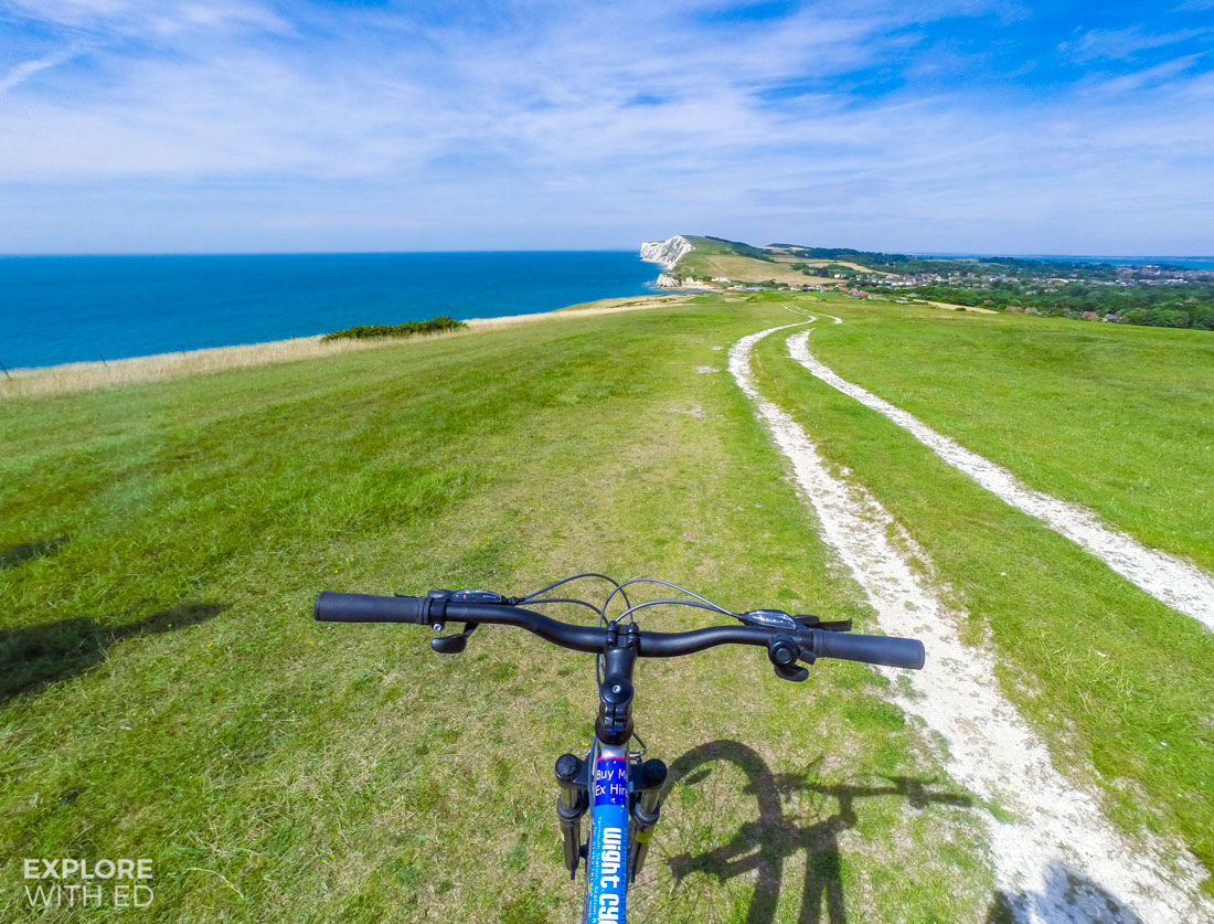 Wight Cycle Hire to Freshwater Bay Isle of Wight