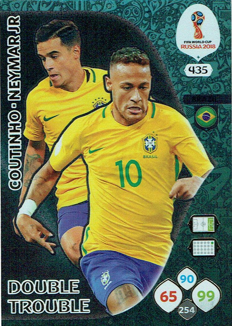 Panini wm World Cup Russia 2018-nº 464-Neymar Jr-Top Master