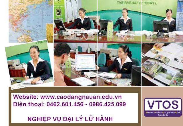 Nghiệp vụ Đại lý lữ hành [Tiêu chuẩn VTOS - www.caodangnauan.edu.vn]