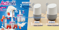 Logo Concorso ''Vinci Google Home con Actimel'': in palio 120 in tutto!