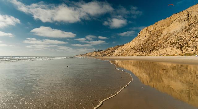 Black's Beach em San Diego