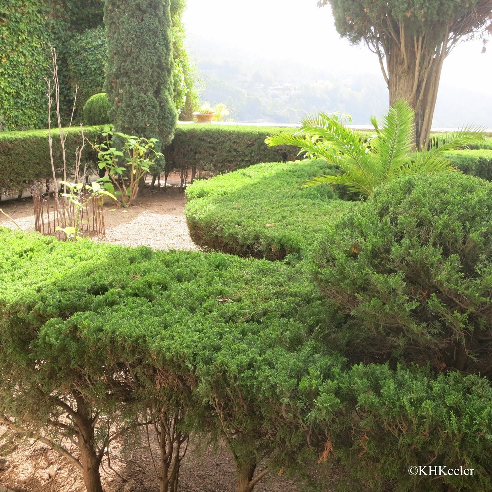 monk's garden, Caruja Real, Mallorca