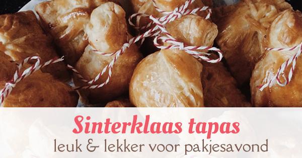 Sinterklaas tapas pakjesavond