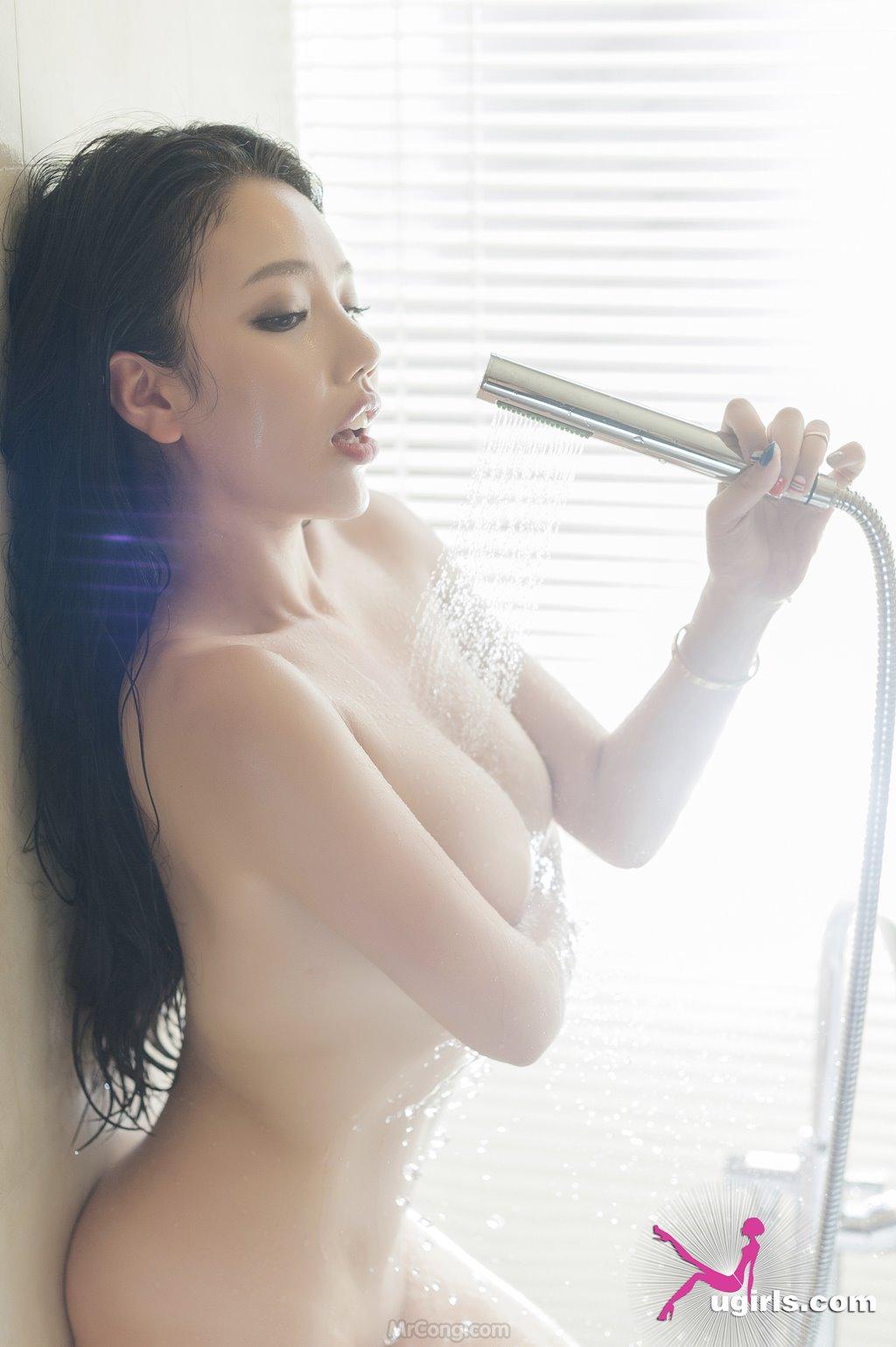 Image MrCong.com-UGIRLS-035-Ni-Xiao-Yao-036 in post Mê mẩn ngắm vòng một nở nang của người đẹp Ni Xiao Yao (妮小妖) trong bộ ảnh UGIRLS 035